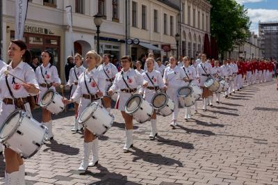 Foto zur Meldung: Phänomenale Premiere im Herzen Potsdams gefeiert