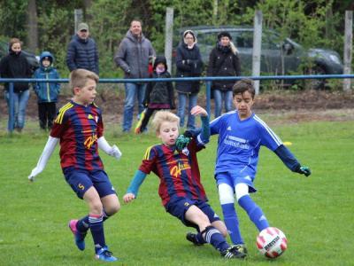Foto zur Meldung: U11: E1-Jugend - 3. Platz beim Sparkassen-Cup 2018