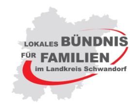 Vorschaubild zur Meldung: Lokales Bündnis für Familien im Landkreis Schwandorf – Familienwoche vom 12.05 – 20.05.2018