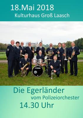 Foto zur Meldung: Gross Laasch - Konzert des Landespolizeiorchesters- 18.Mai