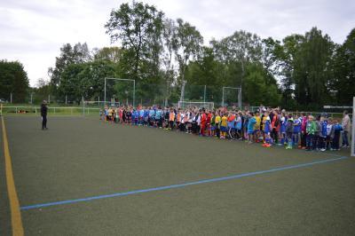 Foto zur Meldung: 21. Kinder- und Jugendsportspiele des Landkreises OSL  Fussball