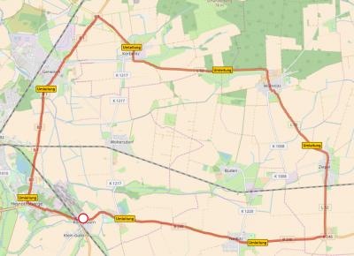 Vorschaubild zur Meldung: Sperrung des Bahnübergangs in Königsborn