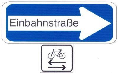 VerkehrszeichenEinbahnstraße