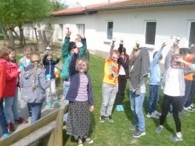 Foto zu Meldung: Kinderklimaschutzkonferenz mit den 4. Klassen