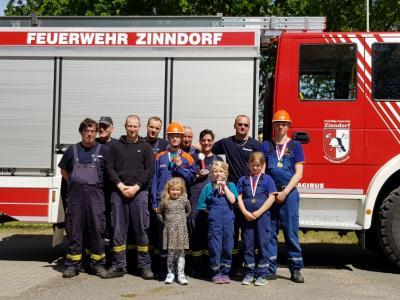 Foto zu Meldung: Zinndorfer erfolgreich beim Amtspokal