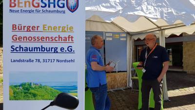 Foto zur Meldung: Bückeburger Sattelfest