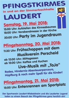 Pfingstkirmes in Laudert