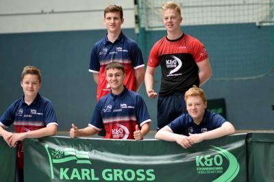 Vorschaubild zur Meldung: Tischtennis-Jungen werden starke Zweite bei Bezirksliga-Playoffs