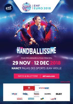 Vorschaubild zur Meldung: Frauen Handball EM 2018 in Nancy (Frankreich) - Volunteers gesucht !