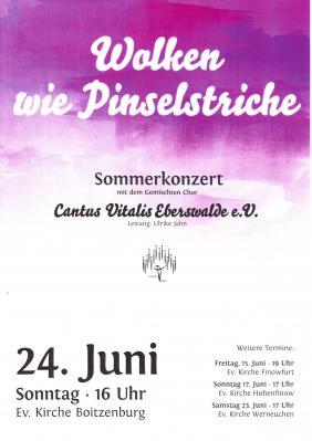 Vorschaubild zur Meldung: Chorkonzert am 24. Juni
