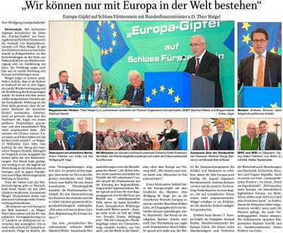 Vorschaubild zur Meldung: Wir können nur mit Europa in der Welt bestehen