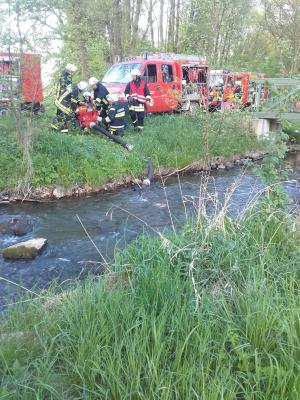 Foto zur Meldung: Gemeinsame Waldbrandübung