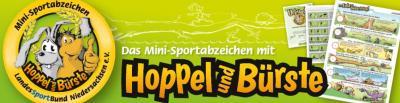 Foto zur Meldung: Mini-Sportabzeichen Materialvergabe an Vereine