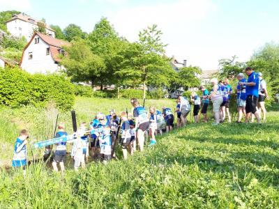 Foto zur Meldung: Eisbach-Challenge erfüllt