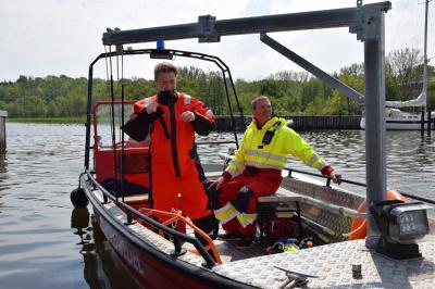 Vorschaubild zur Meldung: Bootsausbildung hat begonnen