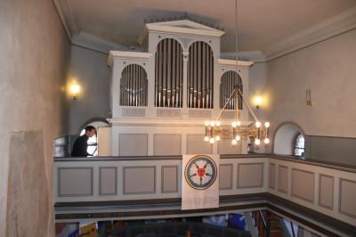 Vorschaubild zur Meldung: Restaurierte historische Orgel offiziell eingeweiht