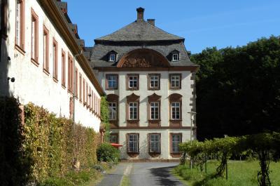 Foto: Barocker Prälatenbau & Abteigebäude, © Freundeskreis Kloster Arnsburg