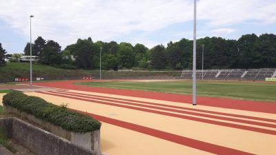 Foto zur Meldung: Einweihung des Walter-Mundorf-Stadion am Pfingstsamstag