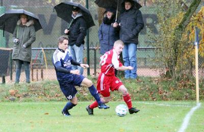 Foto zur Meldung: I.Herren - Bezirksliga-Derby  gegen Lindwedel