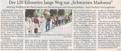 Auszug Der Bayerwald Bote 14.05.2018