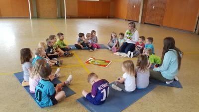 """Foto zur Meldung: AOK-Projekt """"Gesunde Kinder - gesunde Zukunft"""""""
