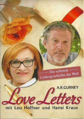 """Foto zu Meldung: """"LOVE LETTERS"""" von A. R. Gurney - Ein außergewöhnlicher Theaterabend mit LOU HOFFNER und HANSI KRAUS am 2. November 2018, um 19 Uhr, im Lindenhof Genthin"""