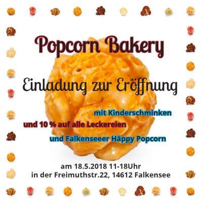 Vorschaubild zur Meldung: Eröffnung der Popcorn Bakery in der Freimuthstraße
