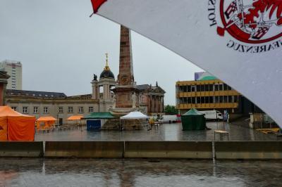 Foto zur Meldung: Potsdamer Europafest 2018 im Regen