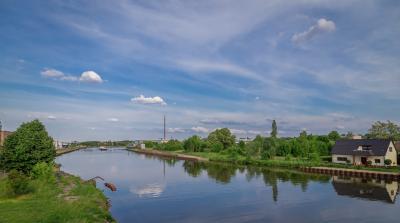 Foto zu Meldung: Zweite Schiffstour auf dem Elbe-Havel-Kanal von Genthin in Richtung Brandenburg am 22. Juli 2018 mit der Reederei Kaiser