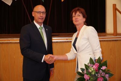 Foto zu Meldung: Sabine Kadasch wird Leiterin des Amtes für Verwaltungssteuerung und Bürgerservice der Stadt Pritzwalk
