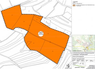 """Vorschaubild zur Meldung: Aufstellung des vorhabenbezogenen Bebauungsplanes """"Solarpark Veringenstadt"""" nach § 2 Abs. 1 BauGB"""