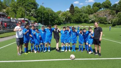 Foto zur Meldung: Fußballturnier in Wuppertal