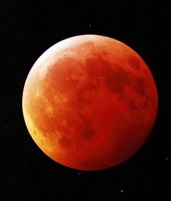 Foto zu Meldung: Mondfinsternis am 27. Juli - Beobachtungsabend