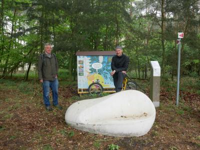 Foto zu Meldung: Regionalpark Wanderbienen auch in diesem Jahr zu Besuch in Nauheim