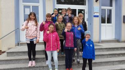 Foto zur Meldung: Schwimmwettkampf der Grundschulen