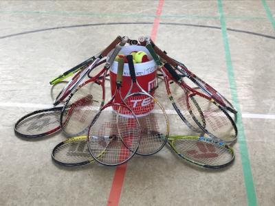Vorschaubild zur Meldung: Projekt: Tennis in der Schule