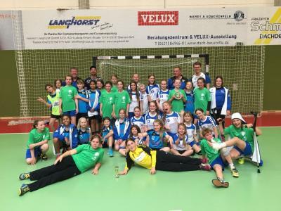 Foto zur Meldung: Handball-Nachwuchs:  Toller Saisonabschluss der E- Jugend in Bremen