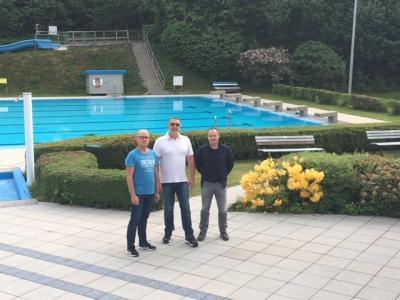 Foto zu Meldung: Neues Angebot: Aqua Gymnastik im Waldschwimmbad Löhlbach