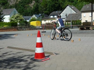 Foto zur Meldung: Kinderfahrradturnier in Oberneisen