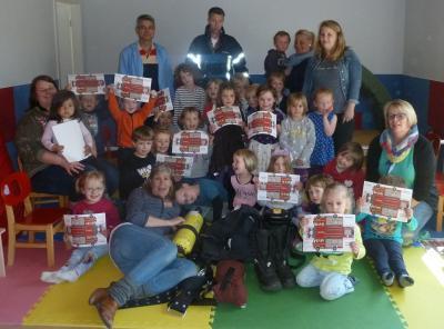 Foto zu Meldung: Brandschutzerziehung Dänischer Kindergarten
