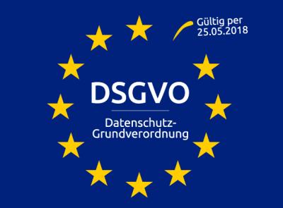EU-Datenschutz-Grundverordnung (DSGVO) tritt am 25.05.2018 in Kraft.