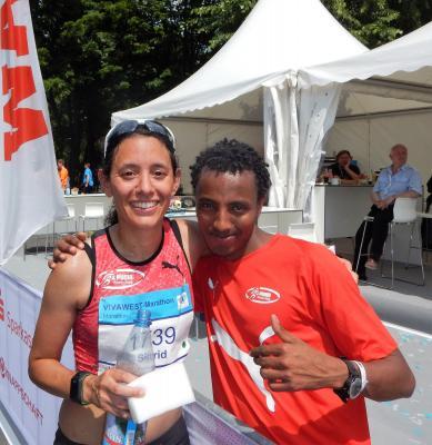Vorschaubild zur Meldung: Sigrid Bühler Dritte beim Vivawest-Marathon