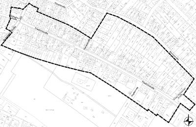 """Vorschaubild zur Meldung: Bekanntmachung der öffentlichen Auslegung des Bebauungsplanentwurfs """"Friedrichstraße"""" und der örtlichen Bauvorschriften zu diesem Bebauungsplan nach § 3 Absatz 2 BauGB"""