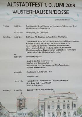 Foto zur Meldung: Tour de Prignitz und Altstadtfest - heiße 4 Tage in Wusterhausen!