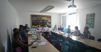 Foto zur Meldung: Vorstandssitzumg Mai 2018