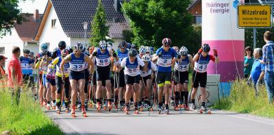 Foto zur Meldung: 2.Moorgrund-Skiroller-Marathon