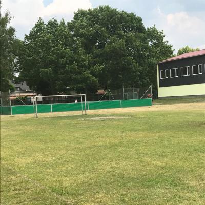 Foto zu Meldung: Schulsportplatz wird saniert