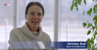 """Prof. Christine Graf spricht in der Sendung """"Fit statt faul"""""""