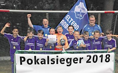 Foto zur Meldung: U11: E1-Jugend - Kreispokalsieger 2018