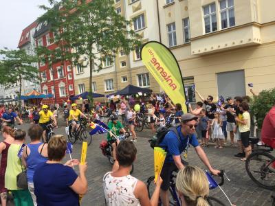 Vorschaubild zur Meldung: Tour de Prignitz in Wittenberge